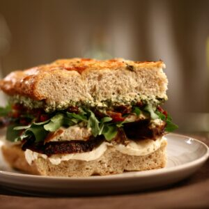 Chicken Pesto Sandwich,