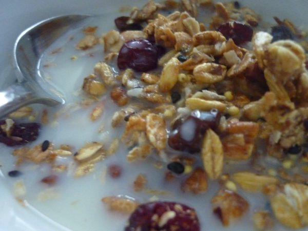 Granola with Steamed...